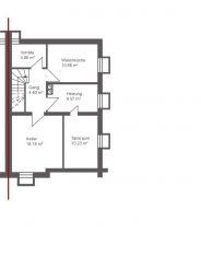Sanierungsbedürftige Doppelhaushälfte mit großzügigem Garten in zentraler und doch ruhiger Lage von Neubiberg