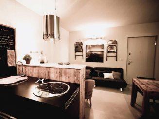 Möblierte 2-Zimmer-Wohnung mit Seeblick