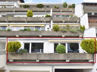 Gepflegte 2-Zimmer-Terrassenwohnung im Herzen von Deisenhofen