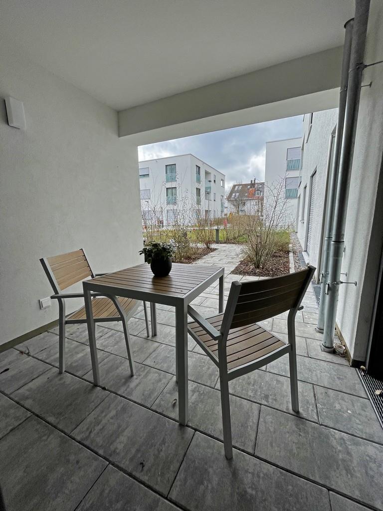 Moderne, urbane 3-Zimmer-Terrassenwohnung in Bogenhausen