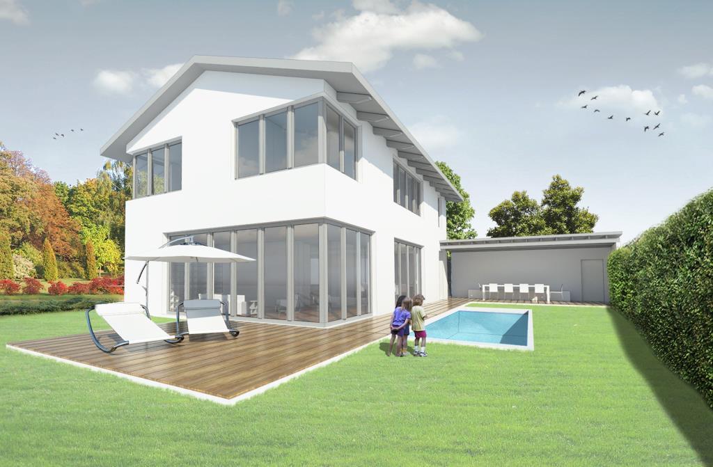 Grundstück zur Bebauung mit einem Einfamilienhaus in 82041 Oberhaching