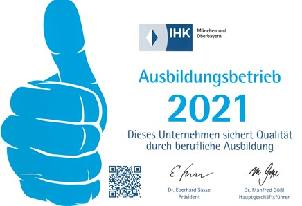 Ausbildungsbetrieb 2021 Ritter Bauträger & Immobilien GmbH