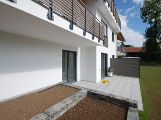 Moderne 2-Zimmer-Erdgeschosswohnung mit hochwertiger Ausstattung