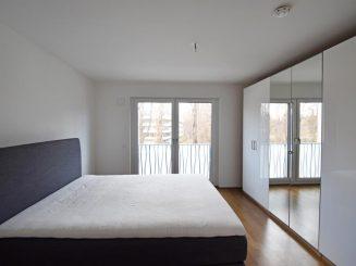 Urbane, moderne 3-Zimmer Wohnung mit Süd-Loggia